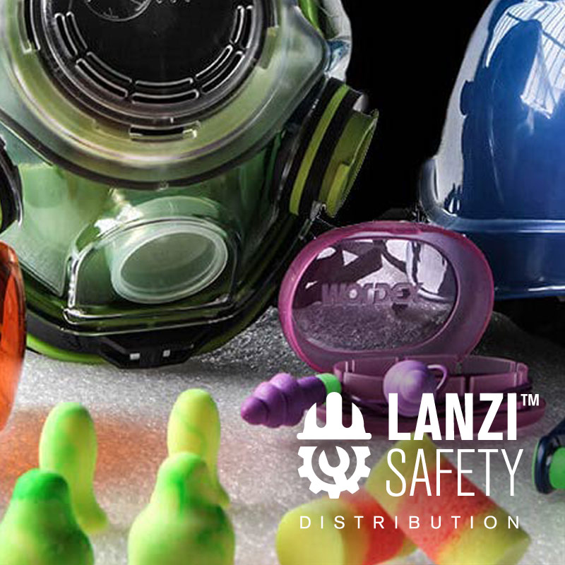 Lanzi Group Safety Vending System PPE production and distribution and MRO warehouses PPE distributors