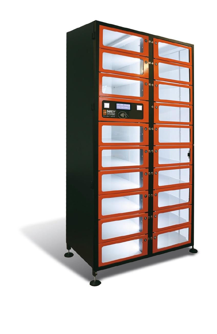 Distributore Armadio automatizzato multifunzione Dispostitivi DPI ARGO LK PRO