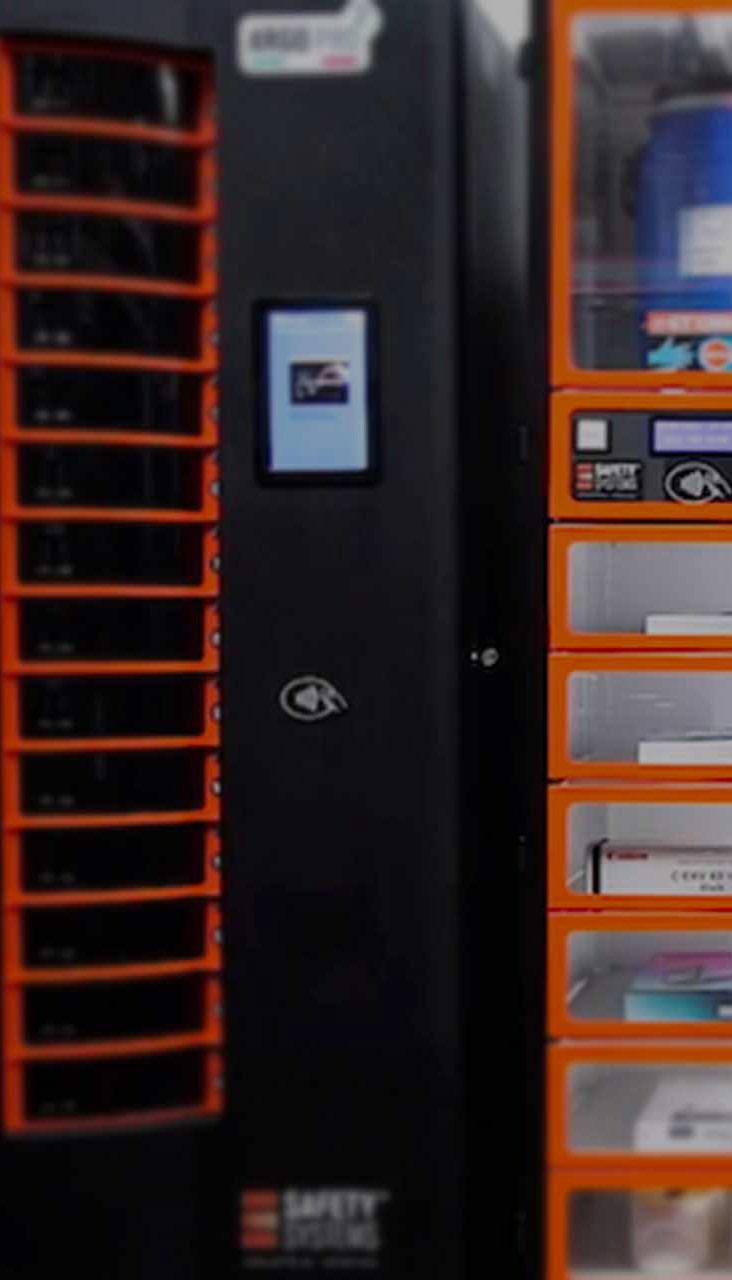 Distributore Armadio automatizzato Dispostitivi DPI Distributori Automatici DPI
