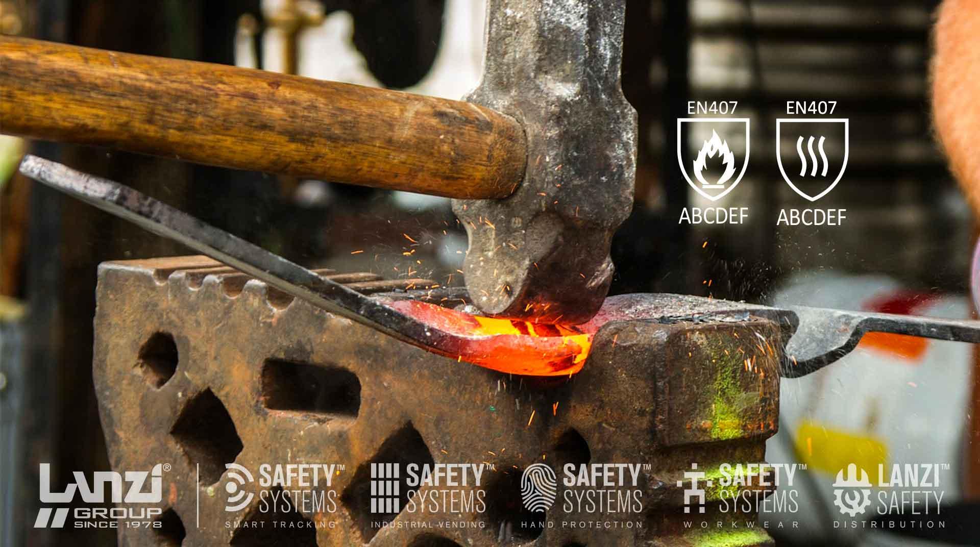Guanti di protezione contro il calore, aggiornamento norma EN 407:2020