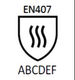 pittogramma EN407